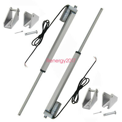 12DC 350mm Linear Actuator Electric Motor 330lb Max Pound for Electric Lifting