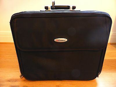 EMINENT cabin laptop bag with wheels and pull out handle