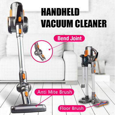 Handheld Cordless Rechargeable Vacuum Cleaner Stick Cyclonic Spin Multifunction