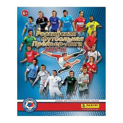 PANINI New Empty Album Russian Football Soccer Premier League RFPL 2015/16