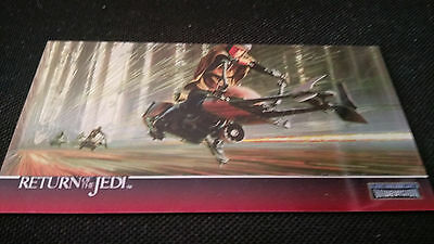 Star Wars Return Of The Jedi Widevision Chrome Insert C-6