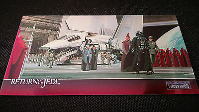 Star Wars Return Of The Jedi Widevision Chrome Insert C-1