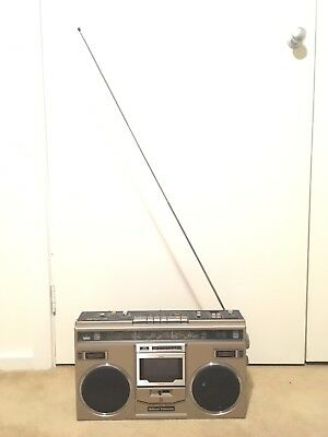National Panasonic RX-5100 Vintage BOOMBOX Ghettoblaster Radio Cassette Player