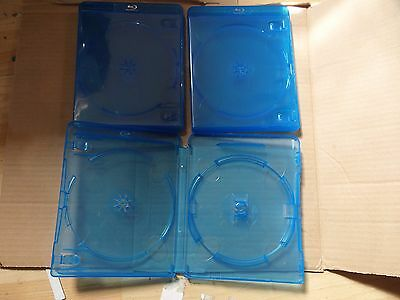 20 X Double 14mm Blu Ray Cases
