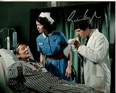 GEORGE LAYTON hand-signed CARRY ON BEHIND color 8x10 authentic w/ UACC RD COA