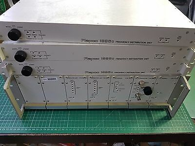 Spectracom / Rapco 10 MHz Frequency Standard Distribution Amps and Controller