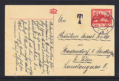 Czechoslavakia 1919  Post Card....