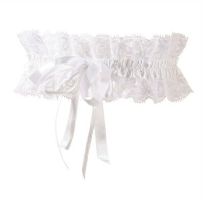 Cottelli Collection Cottelli Collection White Lace Garter - Bodystocking & Catsu