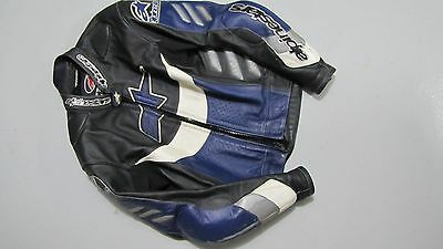 Mens Leather Two Peice Race Bike Suit..Alpinestars..Dainese EU 52  US 42
