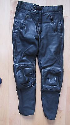 Mens ECHTES leather motorcycle pants/ alpinestars EU 52 -- US 36