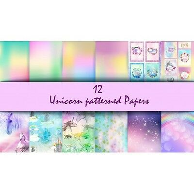 Nini's Things Paper Kit - Unicorns