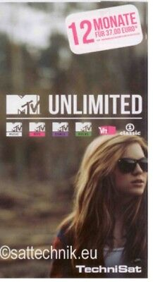 MTV unlimited Ticket für 12 Monate - 0365/4515