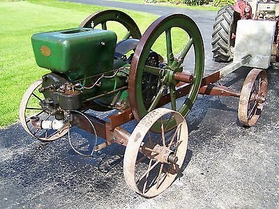 Old FAIRBANKS MORSE 10hp Factory Portable Z Hit Miss Type Engine Cart Magneto