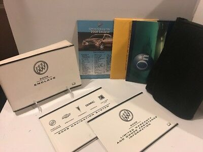 08 2008 buick enclave owners manual supplement 1000 picclick 2008 08 buick enclave owners manual guide books full 7pc set wnav sciox Gallery