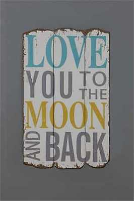 Love You To The Moon and Back Wall Hanging