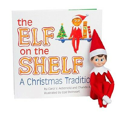 Official Elf on the Shelf Christmas Tradition Boy Girl New Book Doll Set