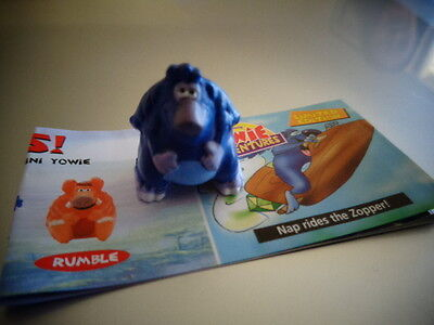 Yowies Series 6 ADVENTURE SERIES 1 * NAP * LIMITED EDITION MINI YOWIE