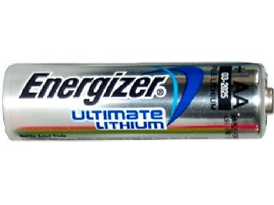 AA Energizer Ultimate Lithium (L91) 1.5 Volt Battery