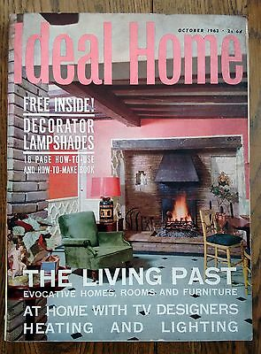 Vintage IDEAL HOME magazine October 1963 - 280 Page Whopper