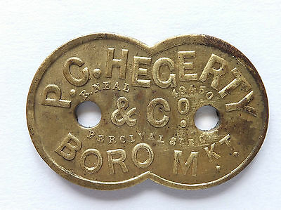 P.c. Hegerty And Co Boro Market Five 95) Shilling Token (3920)