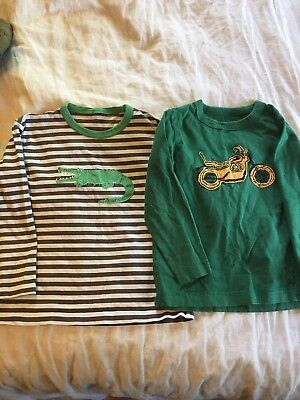 Mini Boden boys long sleeve shirts, size 4/5 and 5/6.