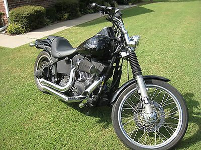 2008 Harley-Davidson Softail  Night Train FXSTB harley davidson softail Nightrain FXSTBi
