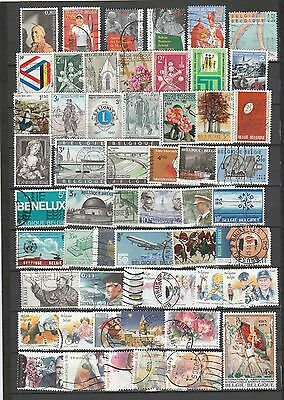 Used stamps from Belgium 2