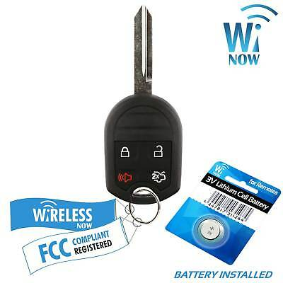 Car Key Fob Keyless Entry Remote 4Btn For 2010 2011 2012 2013 Ford Mustang