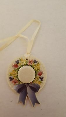 Longaberger Early Blossoms Basket Bonnet Tie-On