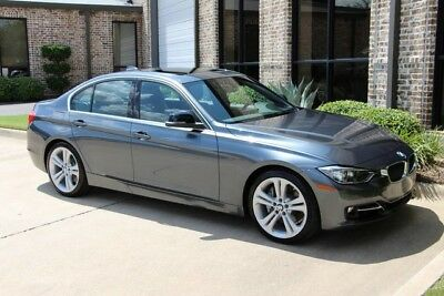 2015 BMW 3-Series Base Sedan 4-Door Mineral Grey Sport Line Premium Technology Driving Assistance Heated Seats More!