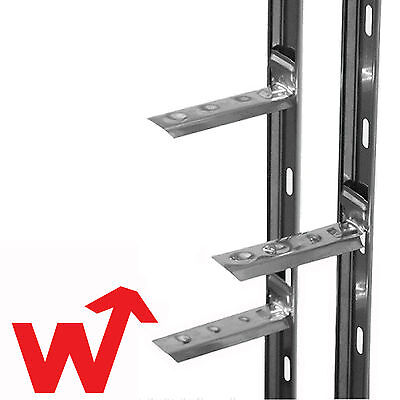 5x Catnic Stronghold Wall Starter Stainless Steel Kit 2.4M (With Ties & Fixings)