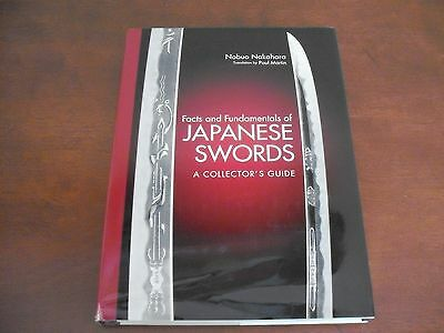 Facts and Fundamentals of Japanese Swords: a Collector's Guide by Nobuo Nakahara