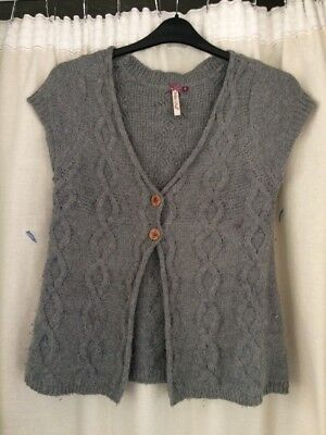 White Stuff Ladies Knitted Waist Coat