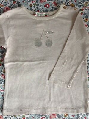 Blouse Tee-shirt Manches Longues Bonpoint Comme Neuf 12 Mois