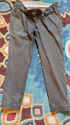 Maternity Pants - Capris - Size 4 - Women's Green Pants