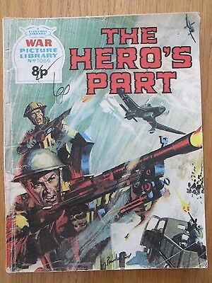 War Picture Library No. 1066 - The Hero's Part