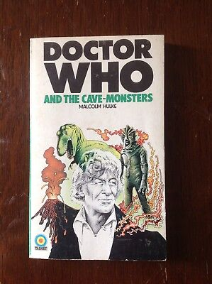 Doctor Who - And The Cave-Monsters Signed By Jon Pertwee