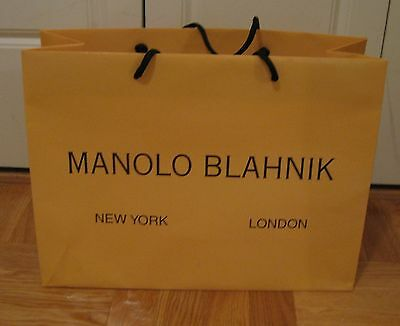 Manolo Blahnik: Paper Shopping / Gift Bag