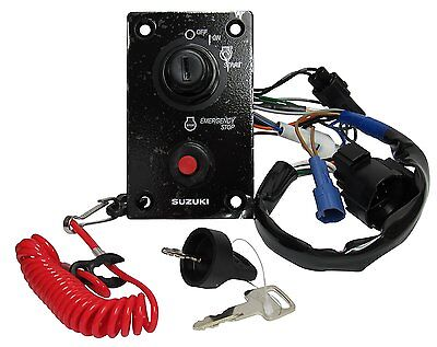OEM  Suzuki Main Ignition Switch Panel with Buzzer 37100-96J24