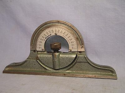 Mitutoyo # 180 - 301 Protractor Head for Combination Square /   AT 111