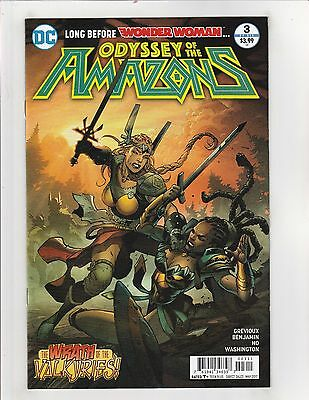 Odyssey of the Amazons #3 NM- 9.2 DC Comics Wonder Woman