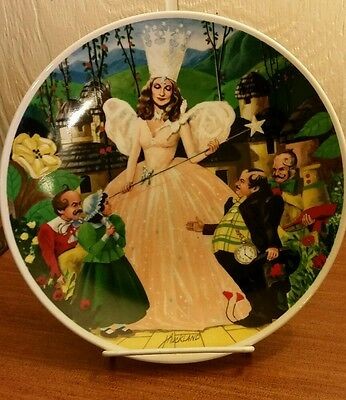 Knowles FOLLOW THE YELLOW BRICK ROAD GLENDA The Wizard of Oz Collector Plate