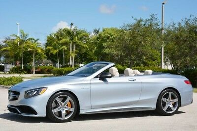 2017 Mercedes-Benz S-Class  2017 S63 AMG CABRIOLET - OVER $204,000 NEW - SPECIAL ORDER - CERAMIC BRAKES