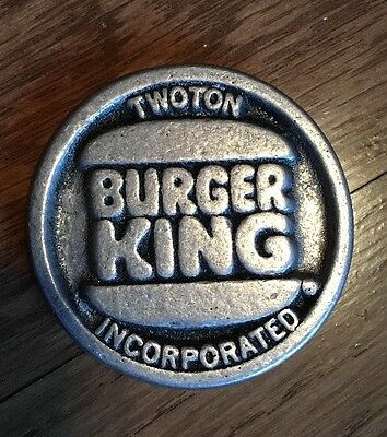 """Burger King Collectors Coin """"A ROUND TUIT"""""""