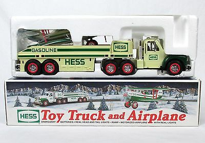 2002 HESS Toy Truck & Airplane Includes Box & Inserts