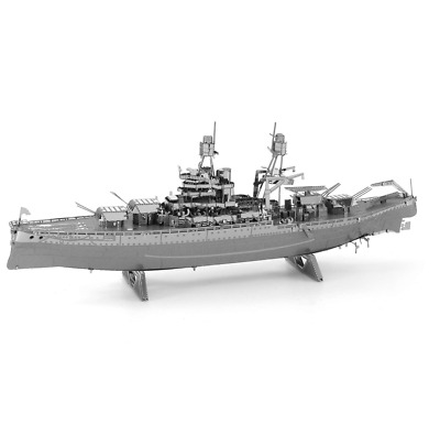 Metal Earth - Fascinations, Iconx USS Theodore Roosevelt Carrier 3D metal puzzle