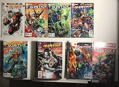 Justice League #0, 1 - 52 Lot Of 53 DC New 52