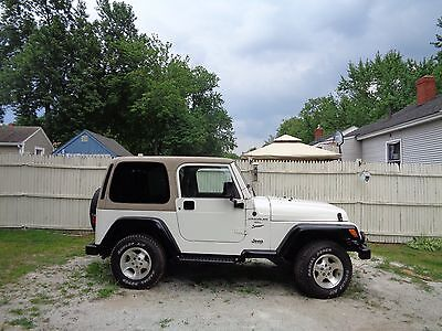 2000 Jeep Wrangler spot 2000 jeep wrangler 6cly auto only 93k no reserve