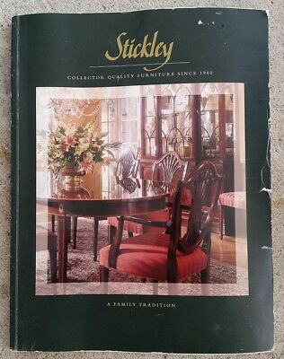 Reference Catalog Book Stickly collector quality furniture since 1900