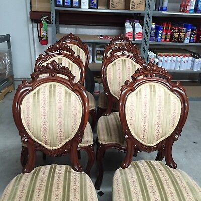 Rosewood Carved Dining chair set of 6